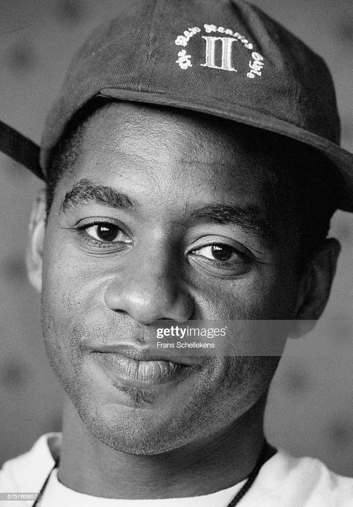 Saxophone player Branford Marsalis poses on July 15th 1995 at the North Sea Jazz Festival in the Hague Netherlands