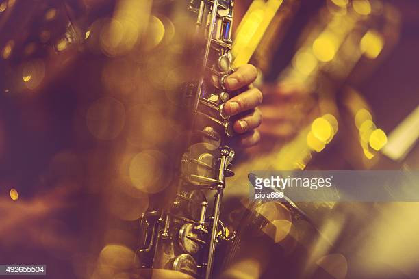 Saxophone Players playing live music