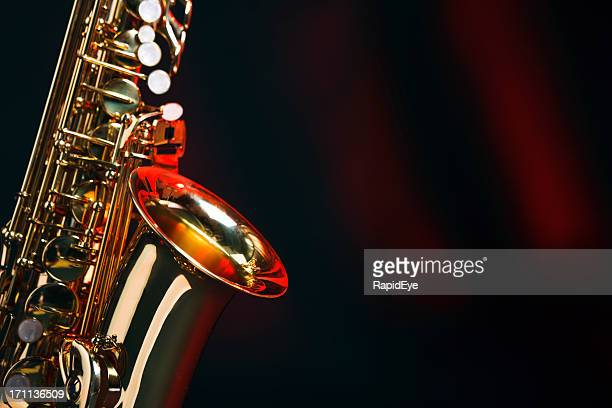 Saxophone with copy space