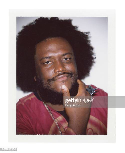 Saxophonist Kamasi Washington of PBS's 'Chasing Trane' is photographed on polaroid film during the 2017 Summer Television Critics Association Press...