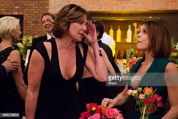 CITY 'Say It Ain't So' Episode 820 Pictured Luann de Lesseps Bethenny Frankel