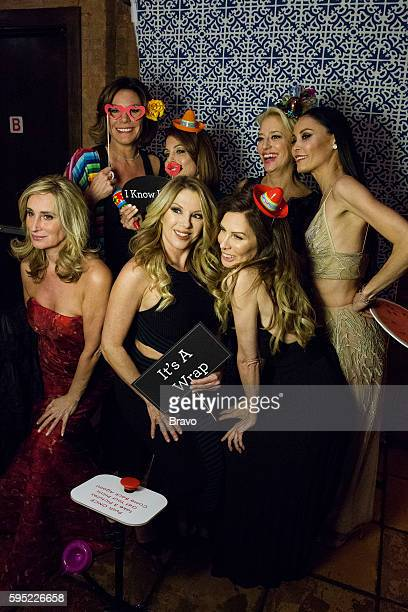 CITY 'Say It Ain't So' Episode 820 Pictured Sonja Morgan Luann de Lesseps Bethenny Frankel Ramona Singer Carole Radziwill Dorinda Medley Julianne...