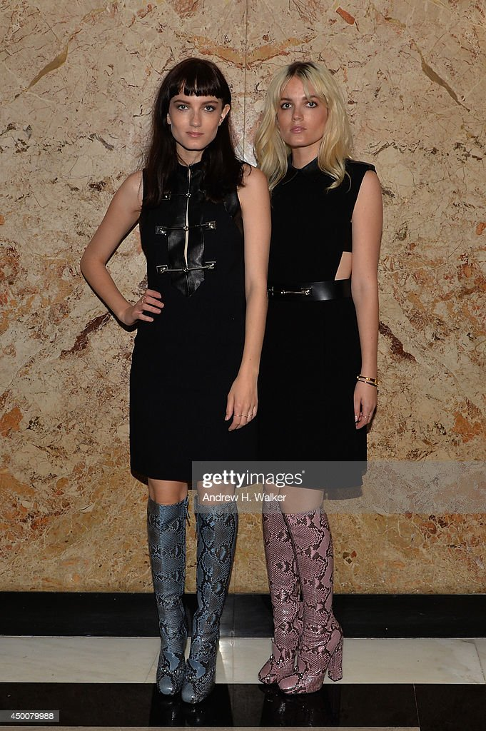 Say Lou Lou attend the Gucci beauty launch event hosted by Frida Giannini on June 4, 2014 in New York City.