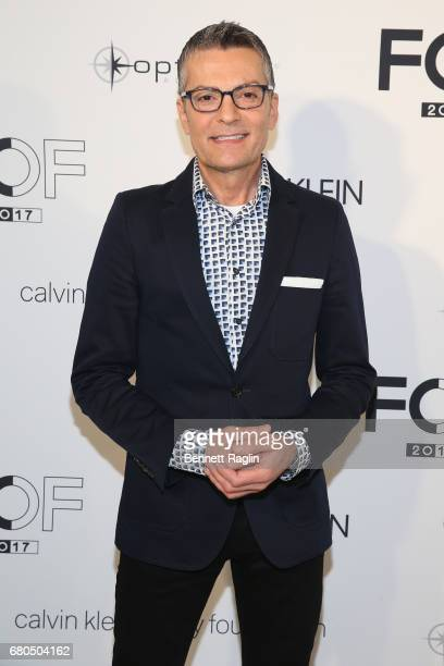 Say Yes To The Dress Host Randy Fenoli attends the 2017 Future of Fashion runway show at the Fashion Institute of Technology on May 8 2017 in New...