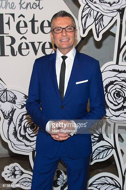 Say Yes to the Dress TV Personality and Fashion Designer Randy Fenoli attends The Knot Gala 2016 at the New York Public Library on October 10 2016 in...