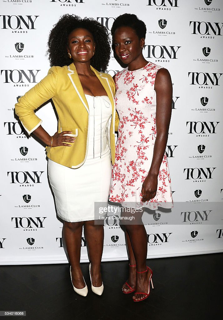 Saycon Sengbloh and Danai Gurira attend A Toast to The 2016 Tony Awards Creative Arts Nominees on May 24, 2016 in New York City.