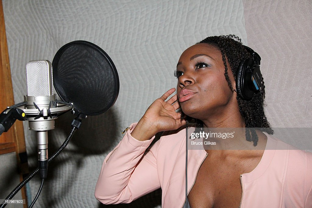 Saycon Sengbloh attends Broadway's 'Motown:The Musical' Original Broadway Cast Recording Session at MSR Studios in Times Square on May 2, 2013 in New York City.