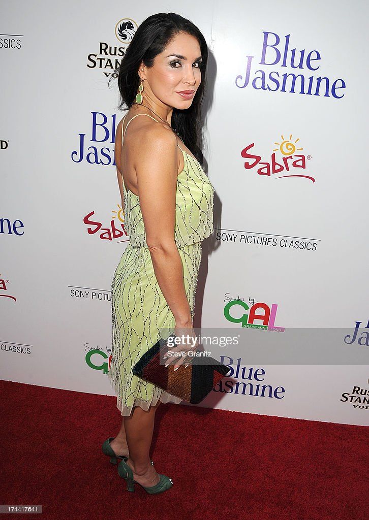 Saye Yabandeh arrives at the Sony Pictures Classics Presents Los Angeles Premiere Of 'Blue Jasmine' at the Academy of Motion Picture Arts and Sciences on July 24, 2013 in Beverly Hills, California.