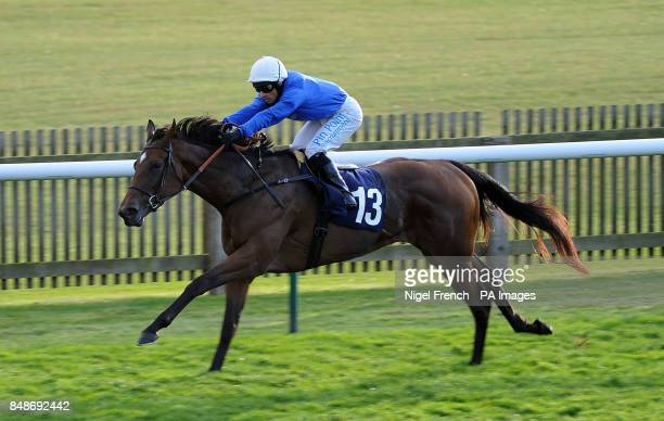 Saytara ridden by Silvestre De Sousa wins The Baileys Horse Feeds Handocap Stakes during day three of The Cambridgeshire Festival at Newmarket...