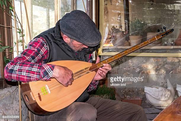 Saz Musiker Kappadokien Tuerkei