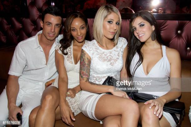 Scafford Schlitt Lila Claketalmer Elizabeth Margulies Carla Isaias attend ATTICA's 2nd Anniversary White Party hosted by Esquire Magazine and The One...