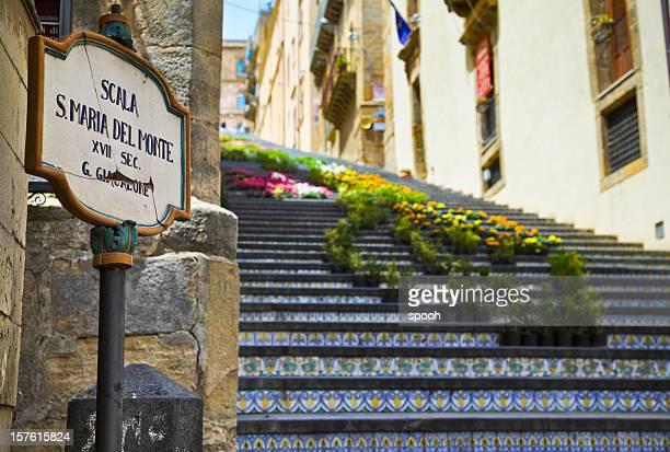 Scala di Santa Maria del Monte a Caltagirone