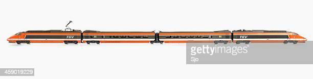 TGV scale model