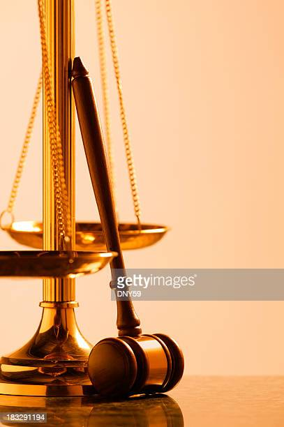 Scale of Justice with Gavel