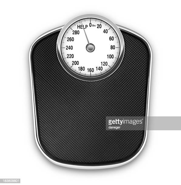 Scale screaming for help (lbs)