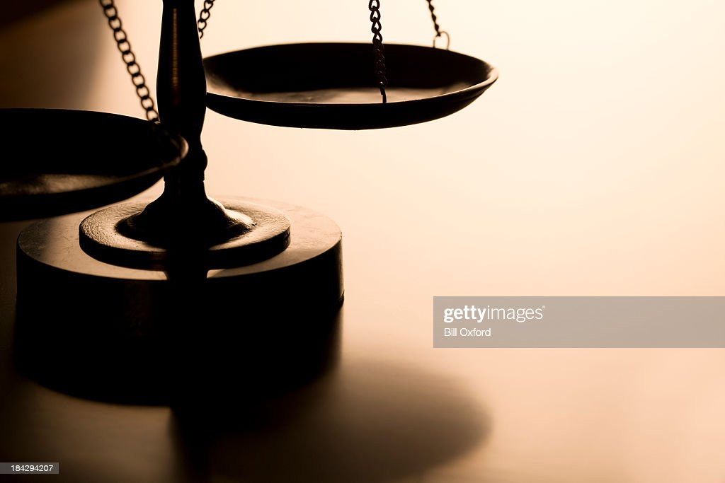 Scales of Justice : Stock Photo