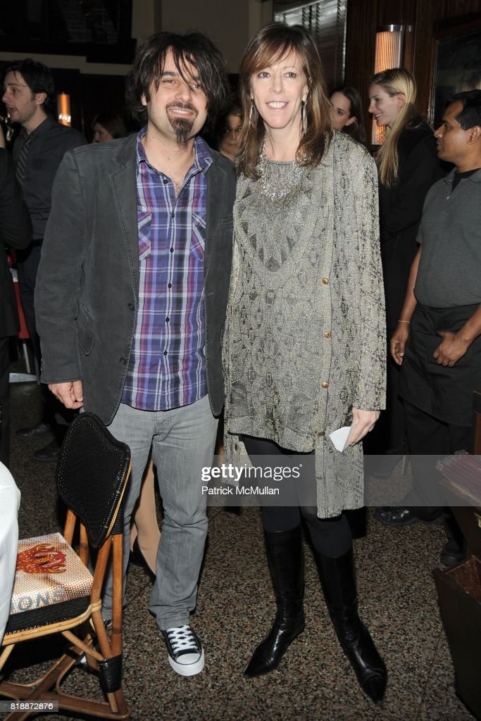 Scandar Copti and Jane Rosenthal attend CHANEL hosts 5th Annual TRIBECA FILM FESTIVAL Dinner - INSIDE at The Odeon on April 28, 2010 in New York City.