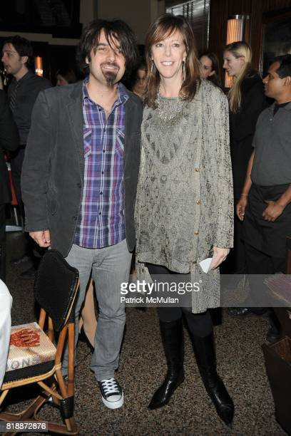 Scandar Copti and Jane Rosenthal attend CHANEL hosts 5th Annual TRIBECA FILM FESTIVAL Dinner INSIDE at The Odeon on April 28 2010 in New York City