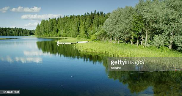Scandinavia Finland lake view