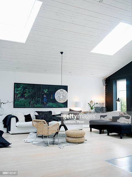 A Scandinavian interior, Sweden.