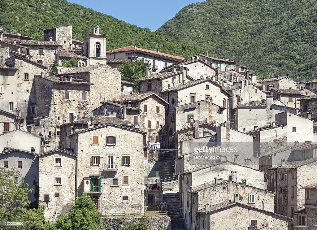 Scanno cityscape,  L'Aquila Province, Abruzzi Italy