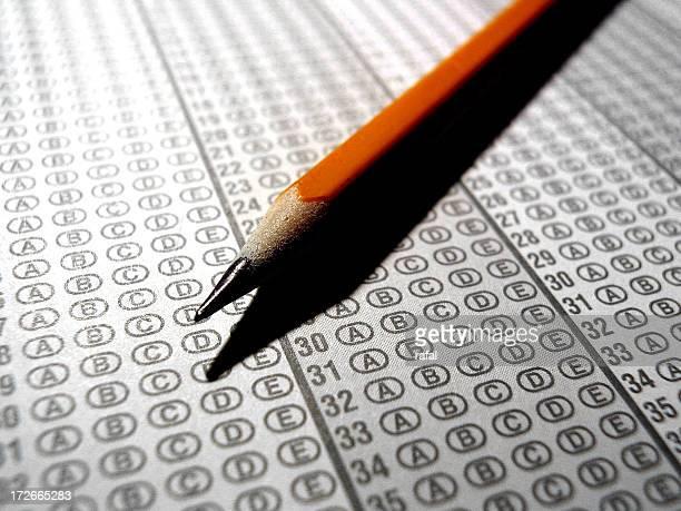 Scantron Optical Scan Exam and Pencil