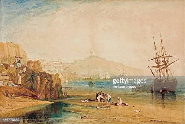 Scarborough morning boys catching crabs c 1810 Artist Turner Joseph Mallord William
