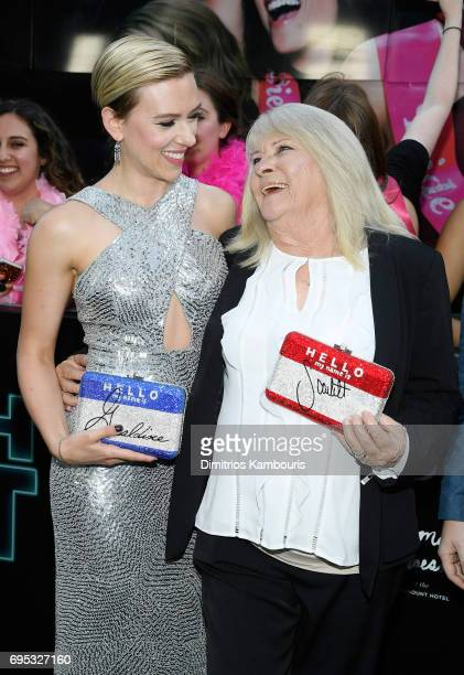 Scarlett Johansson and Geraldine Dodd attend the 'Rough Night' premeire at AMC Loews Lincoln Square on June 12 2017 in New York City