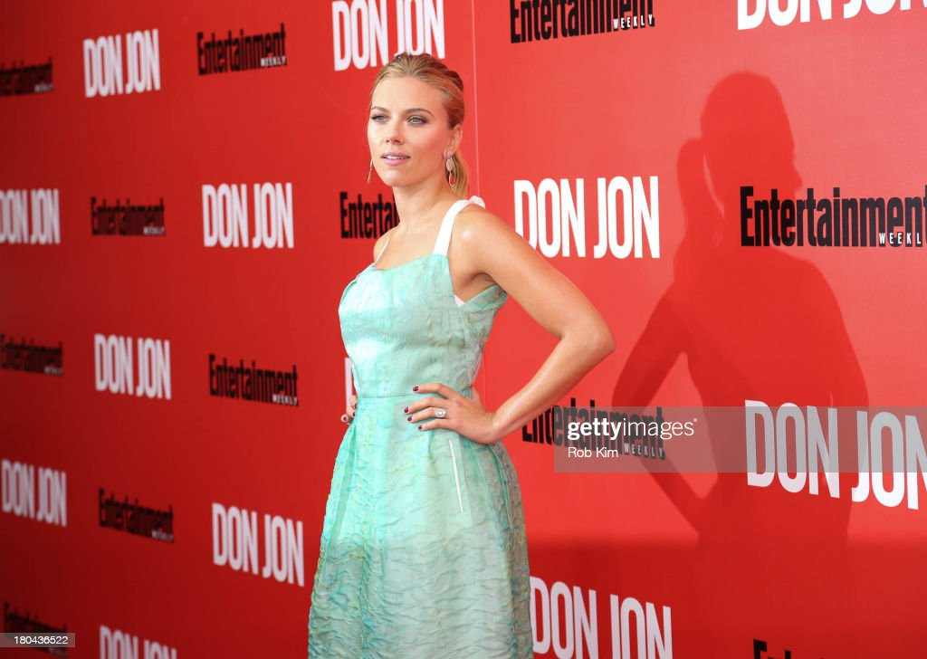 <a gi-track='captionPersonalityLinkClicked' href=/galleries/search?phrase=Scarlett+Johansson&family=editorial&specificpeople=171858 ng-click='$event.stopPropagation()'>Scarlett Johansson</a> attends 'Don Jon' New York Premiere at SVA Theater on September 12, 2013 in New York City.