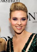 Scarlett Johansson attends the 64th Annual Tony Awards at Radio City Music Hall on June 13 2010 in New York City