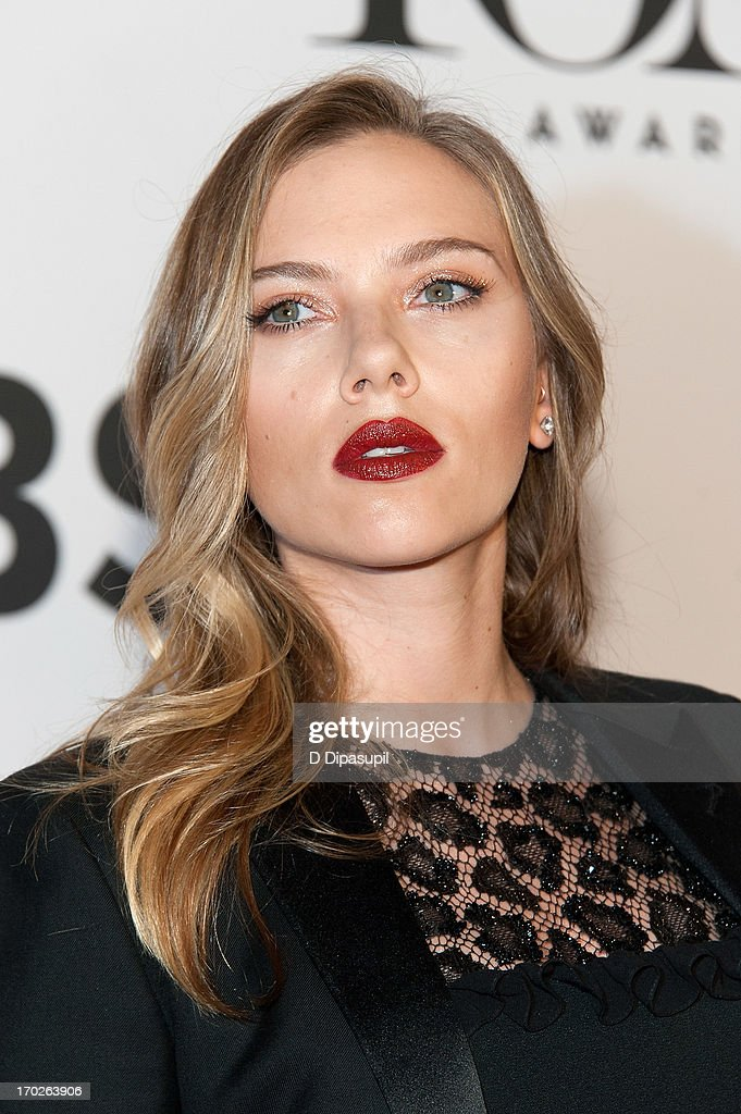 <a gi-track='captionPersonalityLinkClicked' href=/galleries/search?phrase=Scarlett+Johansson&family=editorial&specificpeople=171858 ng-click='$event.stopPropagation()'>Scarlett Johansson</a> attends the 67th Annual Tony Awards at Radio City Music Hall on June 9, 2013 in New York City.