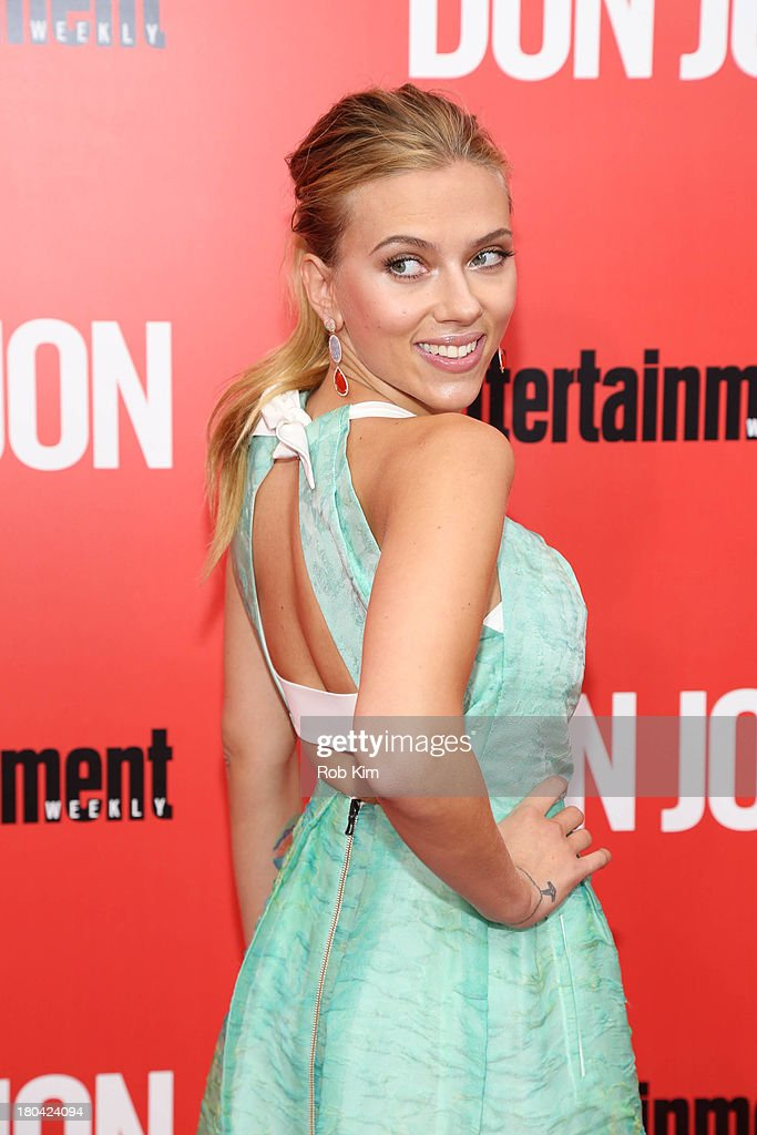 <a gi-track='captionPersonalityLinkClicked' href=/galleries/search?phrase=Scarlett+Johansson&family=editorial&specificpeople=171858 ng-click='$event.stopPropagation()'>Scarlett Johansson</a> attends the 'Don Jon' New York premiere at SVA Theater on September 12, 2013 in New York City.