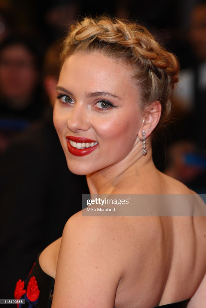 <a gi-track='captionPersonalityLinkClicked' href=/galleries/search?phrase=Scarlett+Johansson&family=editorial&specificpeople=171858 ng-click='$event.stopPropagation()'>Scarlett Johansson</a> attends the European premiere of Marvel Avengers Assemble at Vue West End on April 19, 2012 in London, England.