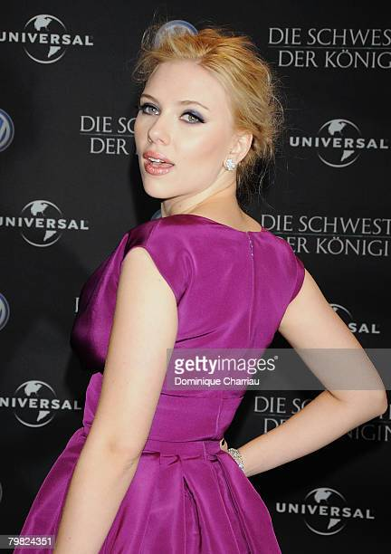 Scarlett Johansson attends 'The Other Boleyn Girl' afterparty during day nine of the 58th Berlinale Film Festival held at the Barensaal on February...