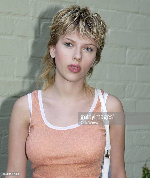 Scarlett Johansson during Imitation of Christ at The Avalon Hotel in Beverly Hills California United States