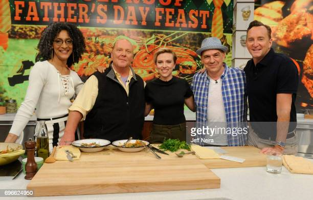 THE CHEW Scarlett Johansson is the guest Friday June 16 2017 on ABC's 'The Chew' 'The Chew' airs MONDAY FRIDAY on the ABC Television Network KELLY