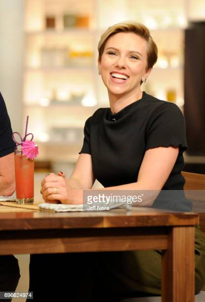 THE CHEW Scarlett Johansson is the guest Friday June 16 2017 on ABC's 'The Chew' 'The Chew' airs MONDAY FRIDAY on the ABC Television Network JOHANSSON