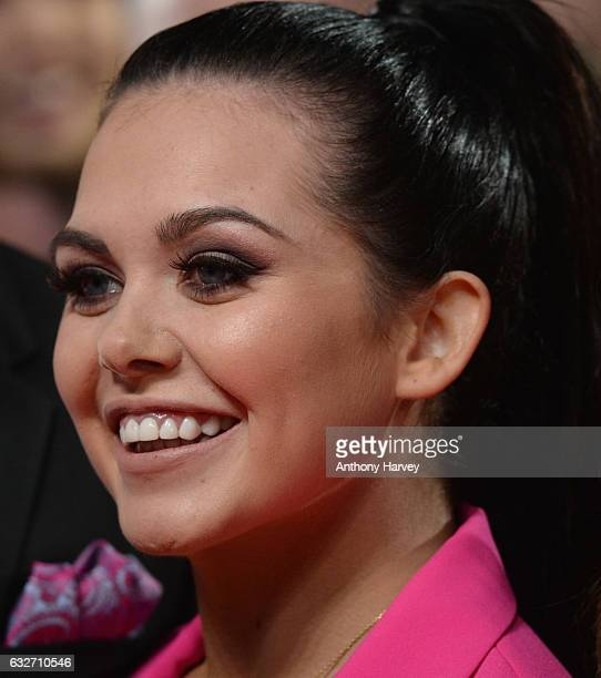 Scarlett Moffat attends the National Television Awards on January 25 2017 in London United Kingdom