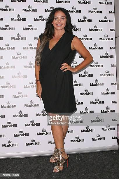 Scarlett Moffatt attending the Mark Hill Hair Pick N Mix launch event on July 27 2016 in London England