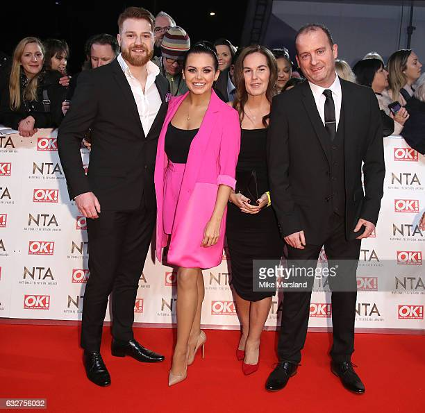 Scarlett Moffatt attends the National Television Awards at The O2 Arena on January 25 2017 in London England