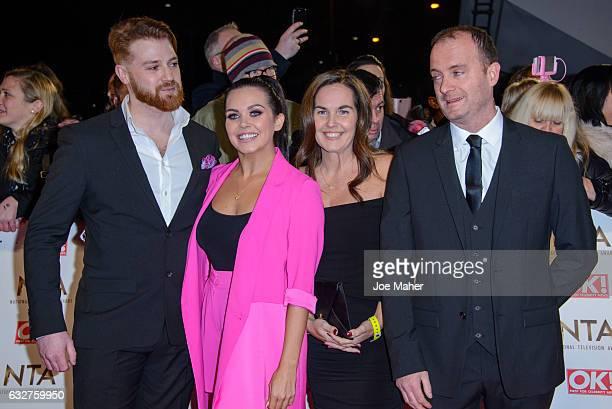 Scarlett Moffatt attends the National Television Awards on January 25 2017 in London United Kingdom