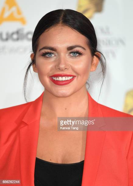 Scarlett Moffatt attends the Royal Television Society Programme Awards at the Grosvenor House on March 21 2017 in London United Kingdom