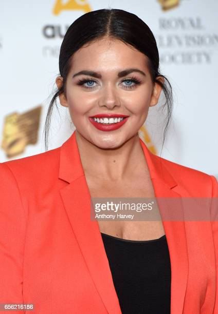 Scarlett Moffatt attends the Royal Television Society Programme Awards on March 21 2017 in London United Kingdom