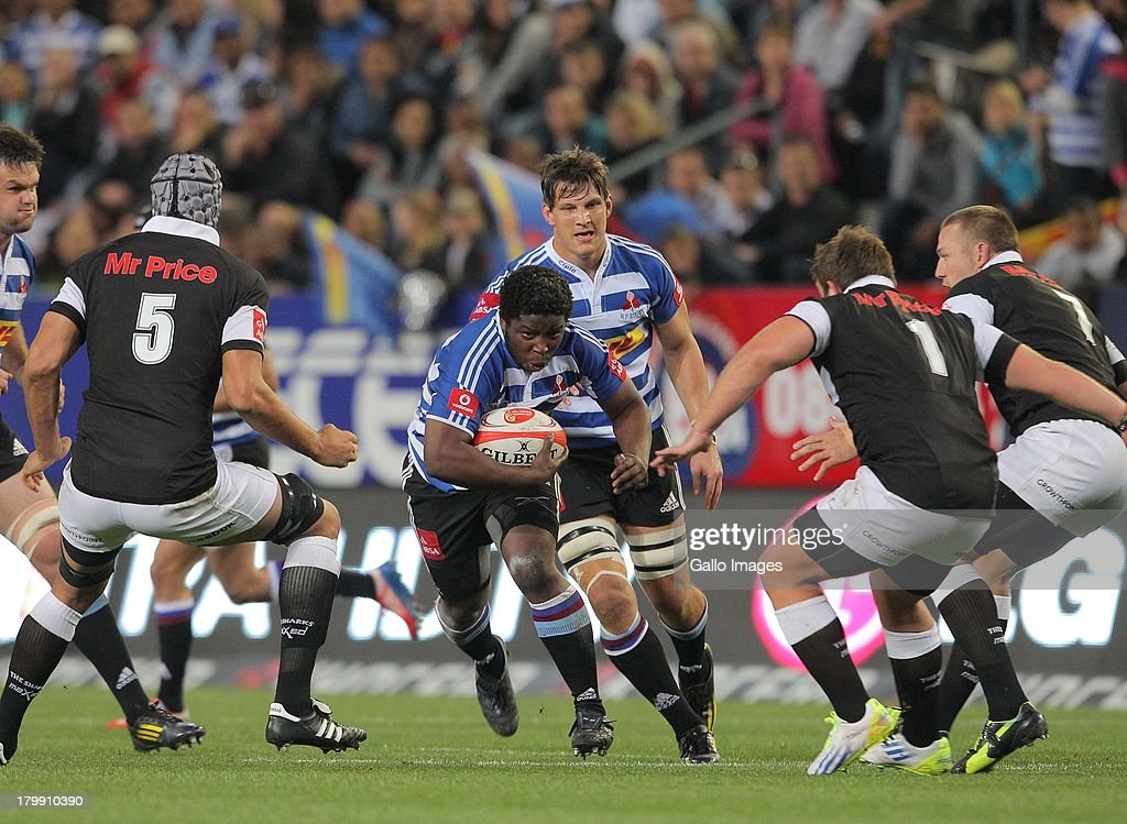 Scarra Ntubeni of Western Province during the Absa Currie Cup match between DHL Western Province and The Sharks from DHL Newlands on September 07...