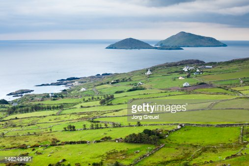 Scarriff and Deenish Islands on the Ring of Kerry