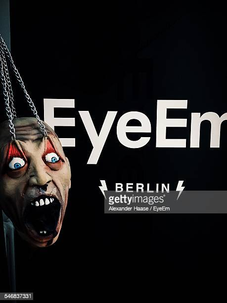 Scary Face On EyeEm Poster