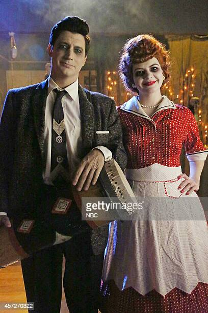 ME 'Scary Me' Episode 102 Pictured Ken Marino as Jake Casey Wilson as Annie