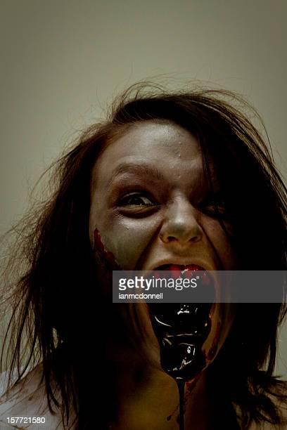 Effrayant zombie