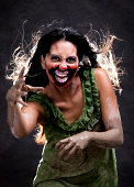 Scary Zombie Woman