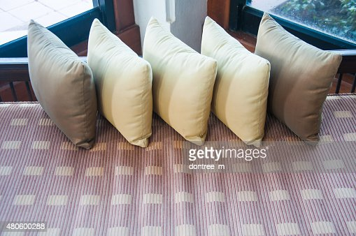 scatter cushion : Stock Photo